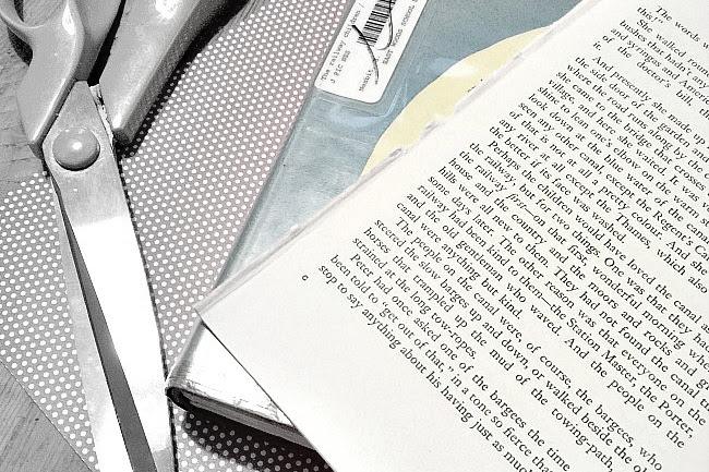 Vintage Book Page Shamrock Banner
