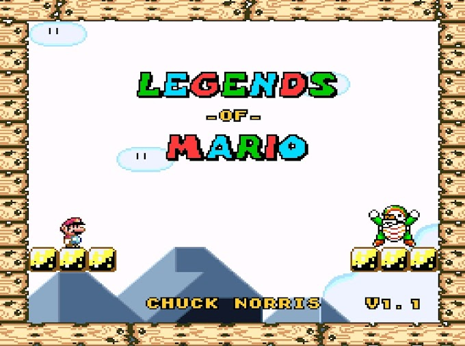 Download Rom Hack - Legends of Mario / Lendas do Mario [SNES]