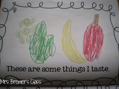 Five Senses activities for Kindergarten- love the Potato Head craft!