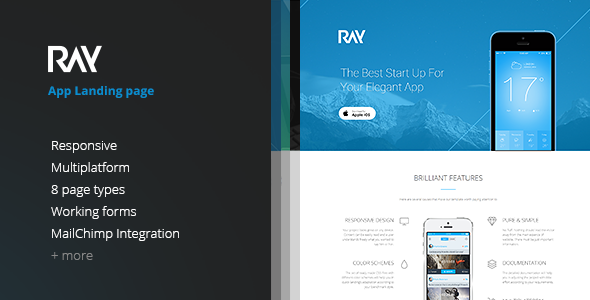 Free Bootstrap Landing Page Theme