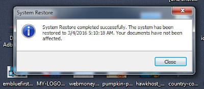 Cara Restore Komputer di Windows 7 Lengkap dengan Gambar
