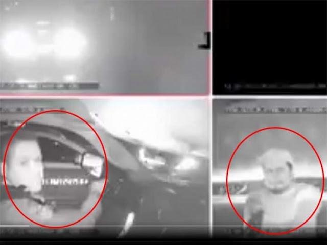 VIDEO; Sicario dispara a policía para ejecutarlo tras pararse en semáforo este sigue manejando herido tras recibir 3 disparos para pedir ayuda