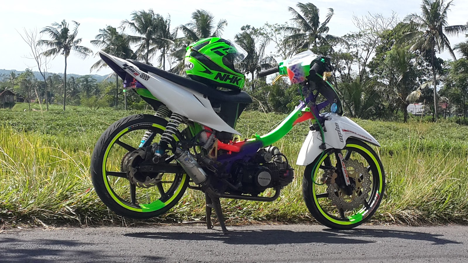 Honda Revo Modifikasi