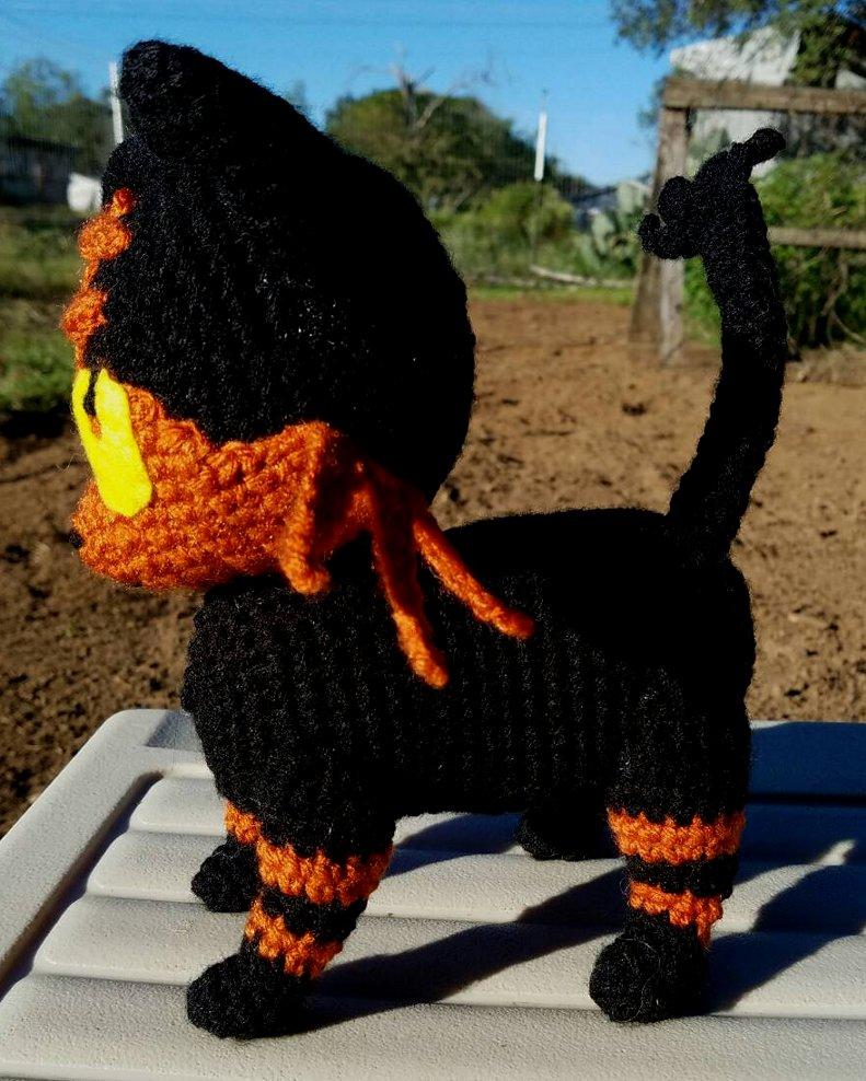 WolfDreamer: Litten _ Pokemon Crochet Plushie Pattern | 988x791