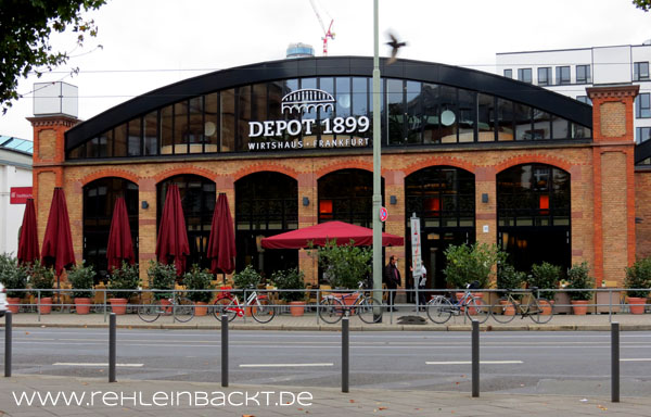 Depot 1899 in Frankfurt-Sachsenhausen | Foodblog rehlein backt