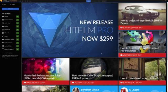 HitFilm Express 2018 Full Tutorial for Beginners IN 2018 - SK GENIUS