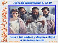 Resultado de imagen para Moisés habló al pueblo, diciendo: «Pregunta, pregunta a los tiempos antiguos