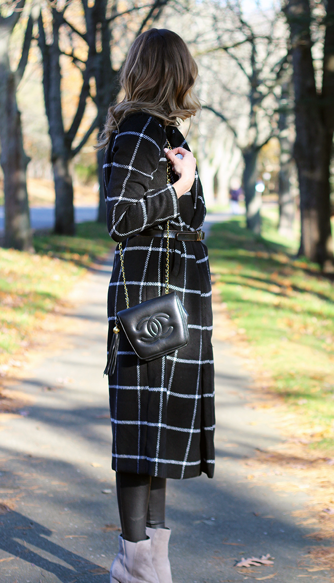 How to style a long coat