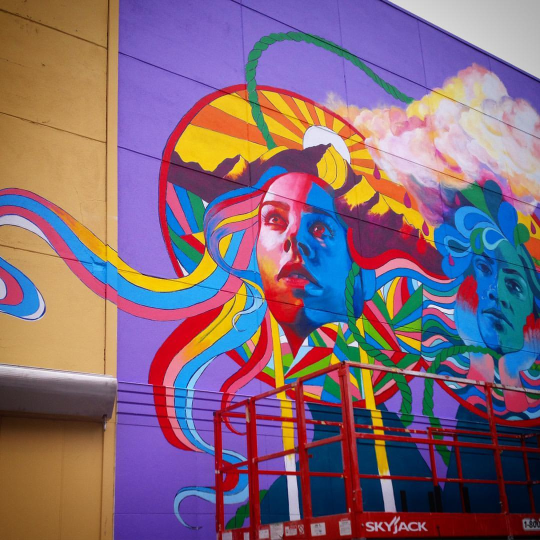 Tucson mural arts program for Mural art images