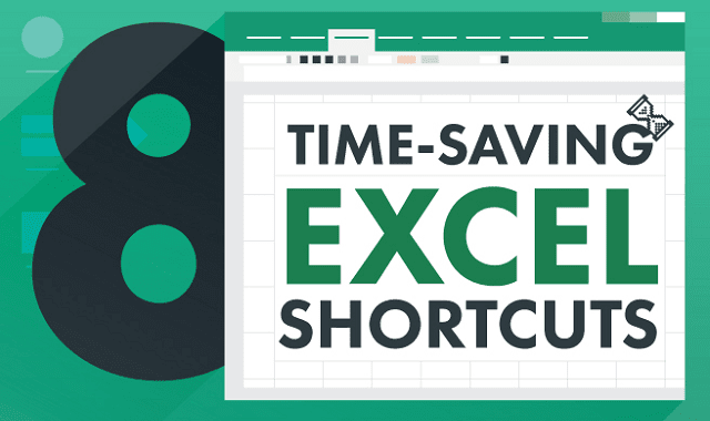 8 time saving shortcuts in Excel