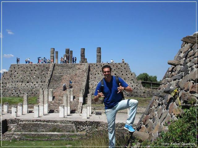 As Pirâmides de Tula -  Tula de Allende - México