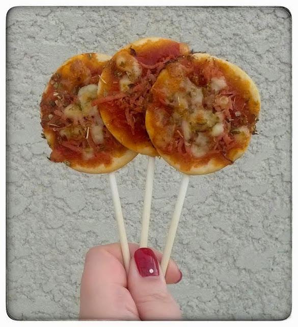 Recette pizza pops