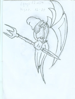 Trident Guardian drawing