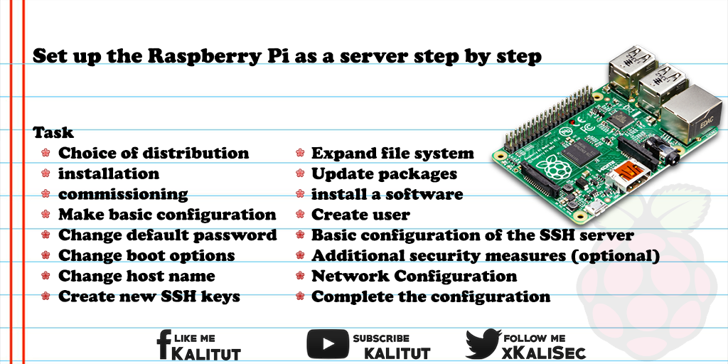Raspberry Pi as a server