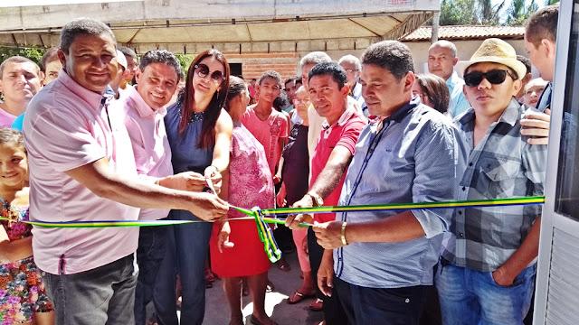 Inauguração de 4 Clínicas e uma Creche marcam os primeiros 6 meses do Governo Bode