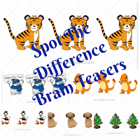 Spot The Difference Picture Brain Teasers Questions and Answers