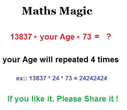 Math Game To Tell You Age By Your Shoe Size
