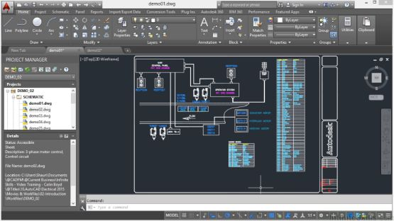 AutoCAD Electrical 2014 screenshot 2