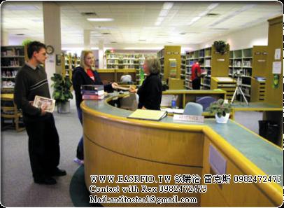 rfid館員工作站,rfid流通櫃檯,rfid staff station,rfid staff workstation