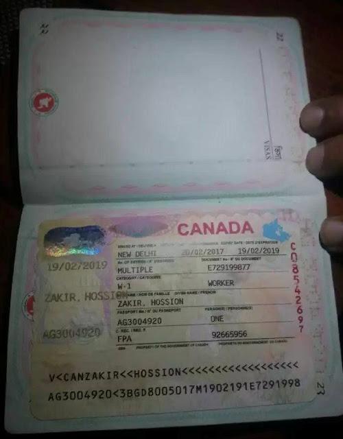 Canada Work Permit Scams