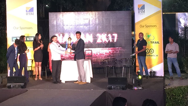 Christ University becomes overall champion at NAMAN 2017