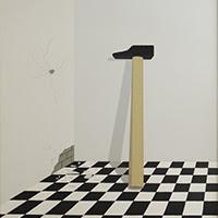 Francesc Calvet pintura figurativa minimalista
