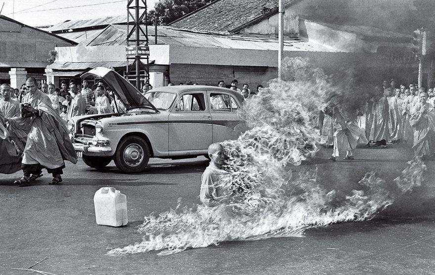 #3 The Burning Monk, Malcolm Browne, 1963 - Top 100 Of The Most Influential Photos Of All Time