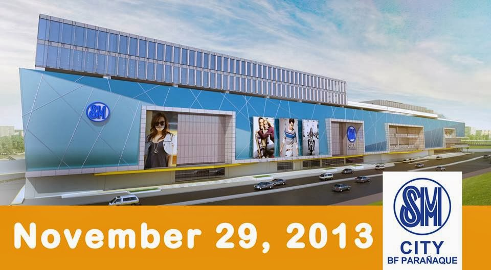 SM BF Paranaque opens November 29, 2013