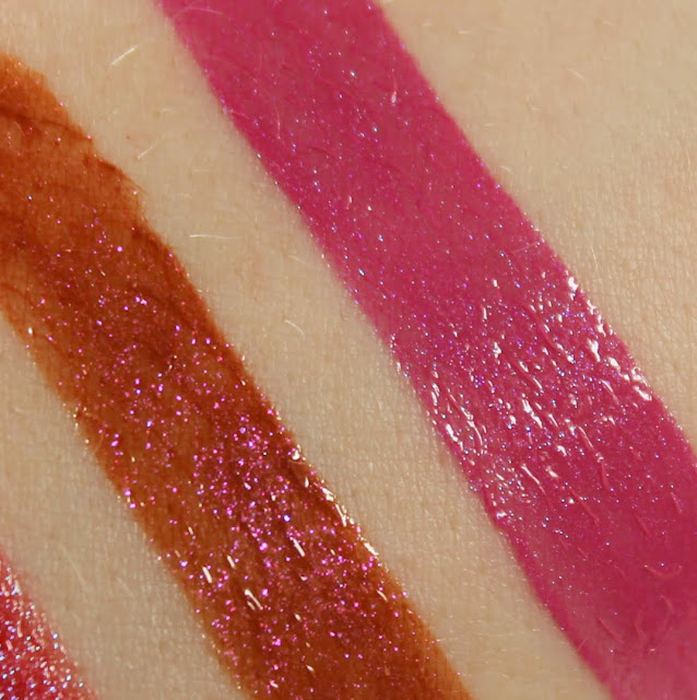 Darling Girl Liquid Kiss Balm Gloss - I'm Into Survival Swatches & Review