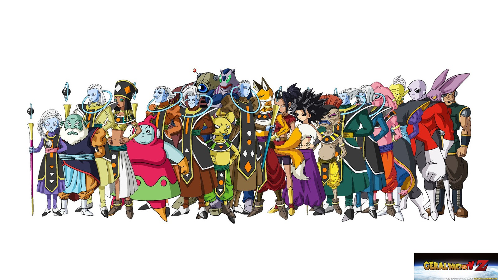 Super dragon ball nuevos personajes dragon ball super - Tout les image de dragon ball z ...