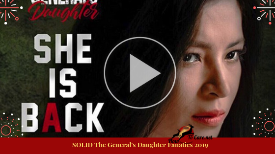 I am also a solid fanatics of The General's Daughter. I didn't skip an episode. I really like The General's Daughter, because all of my favorite artists are in the show, especially Angel Locsin. I am a solid fan of Angel Locsin.