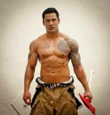 showers in Gay firemen