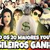 Quanto Ganham Os Youtubers Brasileiros? – Top 20 YouTube Brasil