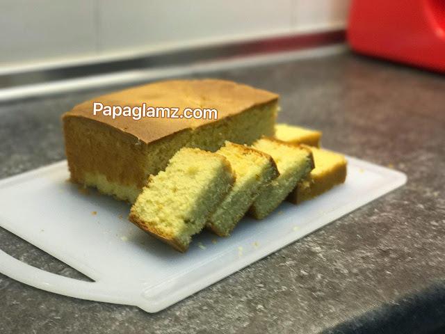 resepi kek butter, Kek butter marble, kek biasa, kek mudah,