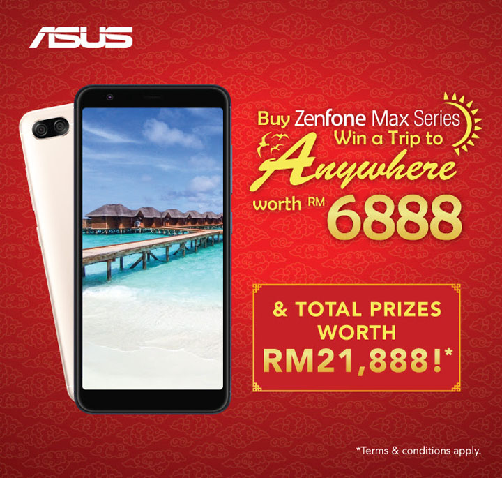 ZenFone Max Series - CNY Buy Max & Win!