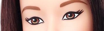 Olhos e tons de pele das novas Barbie Fashionistas Coleção 2016