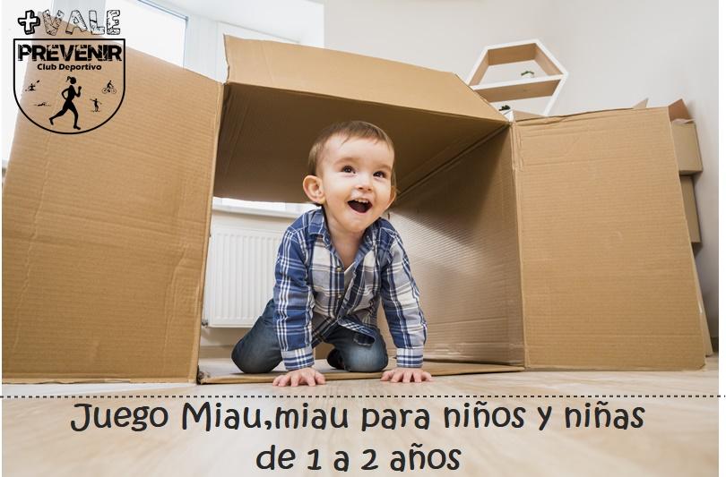 bb39e460e221 Club Deportivo Más Vale Prevenir: Juego Miau, Miau para niños y ...