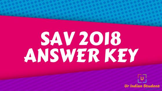 Simultala Awasiya Vidyalaya Entrance Exam Pre (SAV) Question Papers