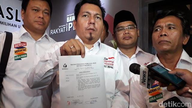 Timses Jokowi Adukan Hoax Ratna Sarumpaet ke Bawaslu