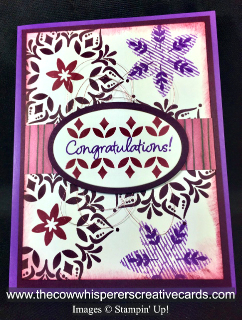 Card, Happiness Surrounds, Congratulations, Share What You Love