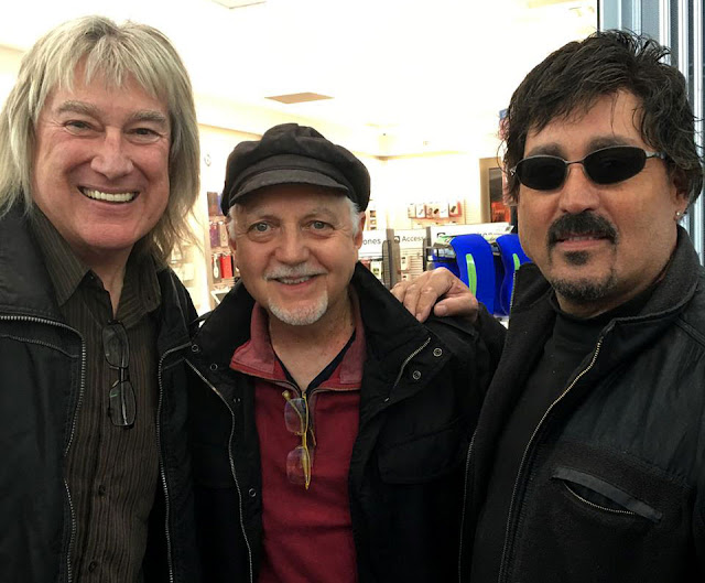 Left To Right:  John Schlitts, Phil Keaggy, and John Elephante