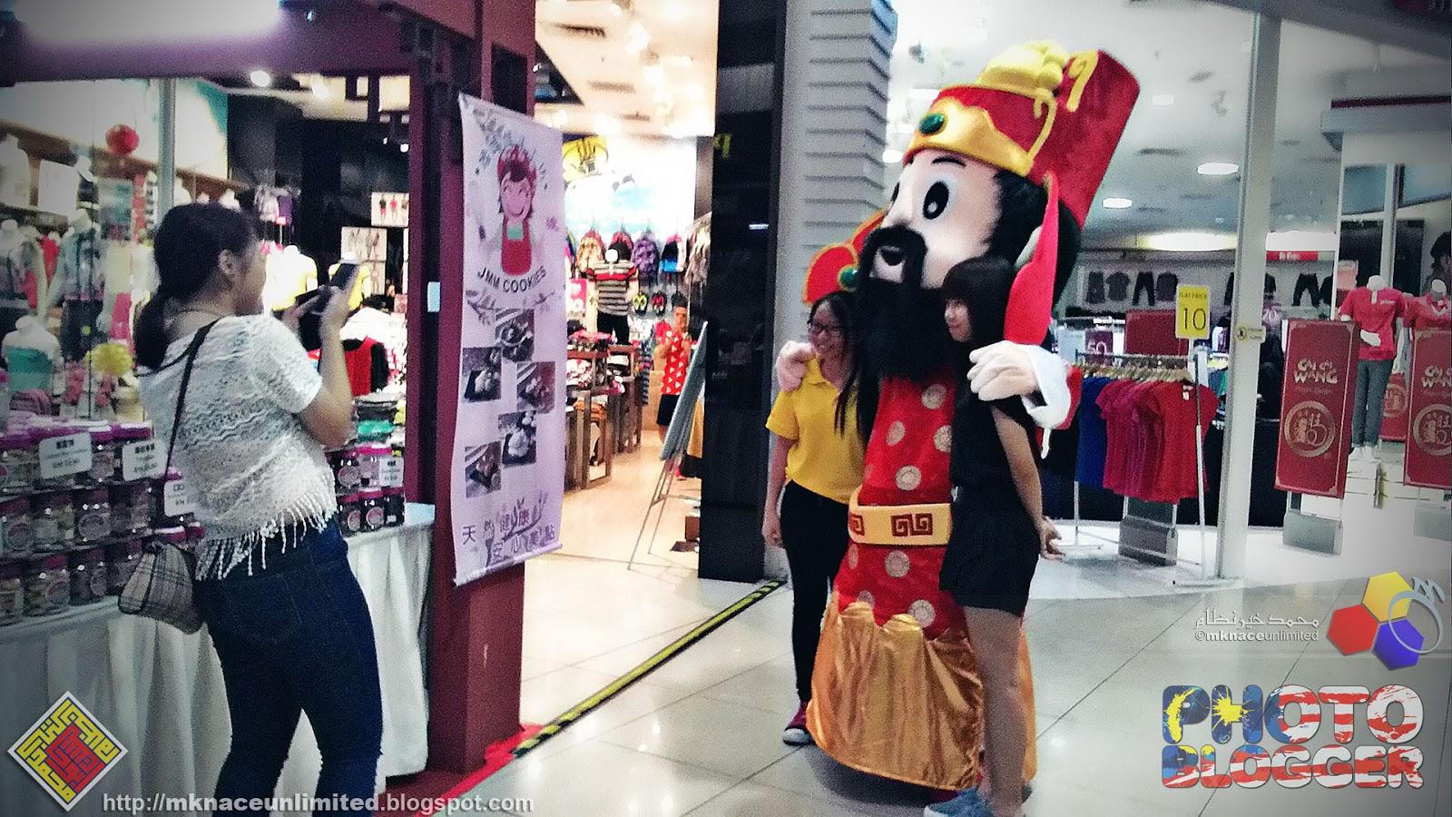 Bukit Indah Chinese New Year Shopping Spree Mknace Unlimited The Roti Tissue By Canai Ikhwan Gh Corner Mks Sempat Singgah Papa