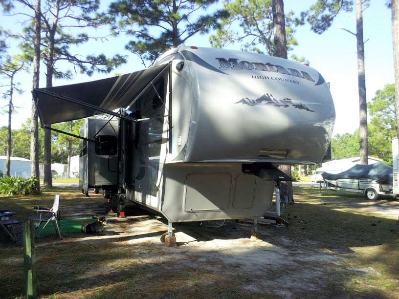 Rustic Sands Resort Campground Mexico Beach Florida