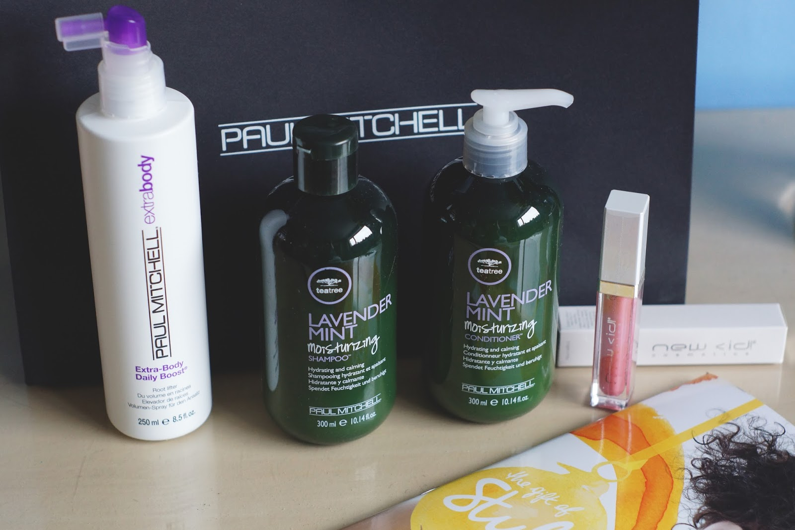 Hello Freckles Paul Mitchell Gift of Style Products