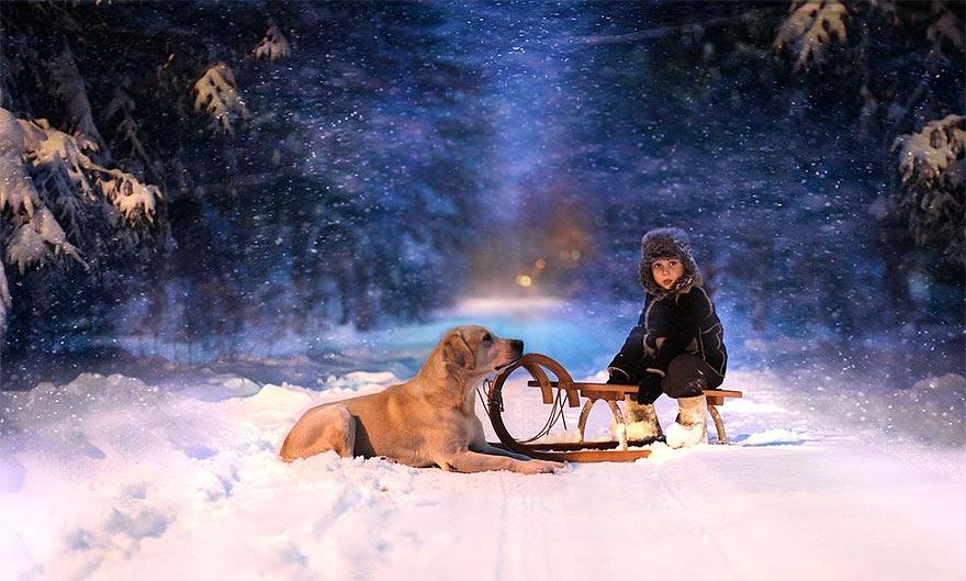 Ảnh đẹp người và động vật Elena Shumilova