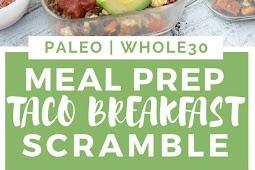 Meal Prep Taco Scramble