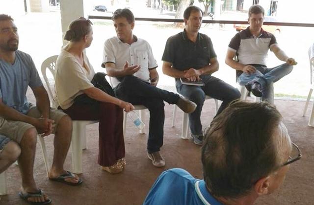 Iretama: Prefeito participa de reunião no Águas de Jurema