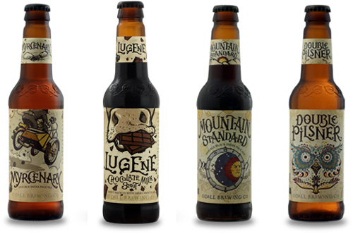 My Owl Barn Cool Label Designs By Odell Brewing Company