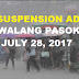 #WalangPasok: Class Suspension July 28, 2017 (Friday)