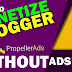 Propeller Ads In Blogger And How to Verify Propeller Ads in Blogger